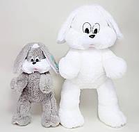 """Плюшевый зайчишка """"Снежок"""" 65 см"""