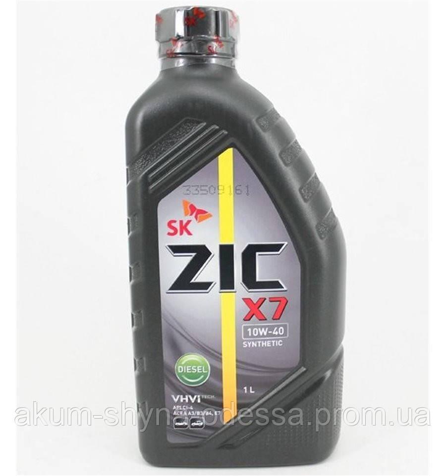 ZIC X7 10w40 1l DIESEL