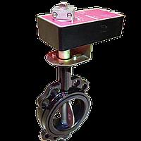 Электропривод Nenutec NACM 1.1-40 (24 В, 0-10В) для задвижки баттерфляй <Ду-150