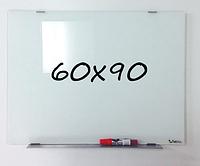 Доска магнитно-маркерная стеклянная 60х90см, Tetris