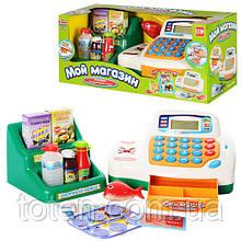 Касовий апарат дитячий 7254 продукти, стійка, на батарейці Play Smart