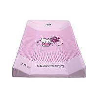 """Пеленальная доска Maltex с подголовником """"Hello Kitty"""" - розовый"""