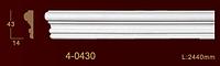 Молдинг профильный гибкий 4-0430