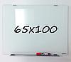 Доска магнитно-маркерная стеклянная 65х100см, Tetris