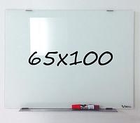 Доска магнитно-маркерная стеклянная 65х100см, Tetris, фото 1