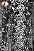 Свадебный шарф айвори Лиза, фото 2