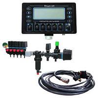 Бортовой компьютер опрыскивателя «Водолей» - 3 секции (монитор, датчик скорости, кабель) (аналог BRAVO-180)