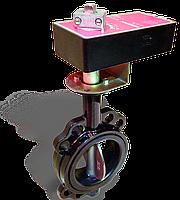 Электропривод Nenutec NACA 2-40 (220 В, 3-поз.) для задвижки баттерфляй <Ду-150