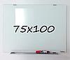 Доска магнитно-маркерная стеклянная 75х100см, Tetris