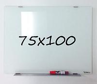 Доска магнитно-маркерная стеклянная 75х100см, Tetris, фото 1