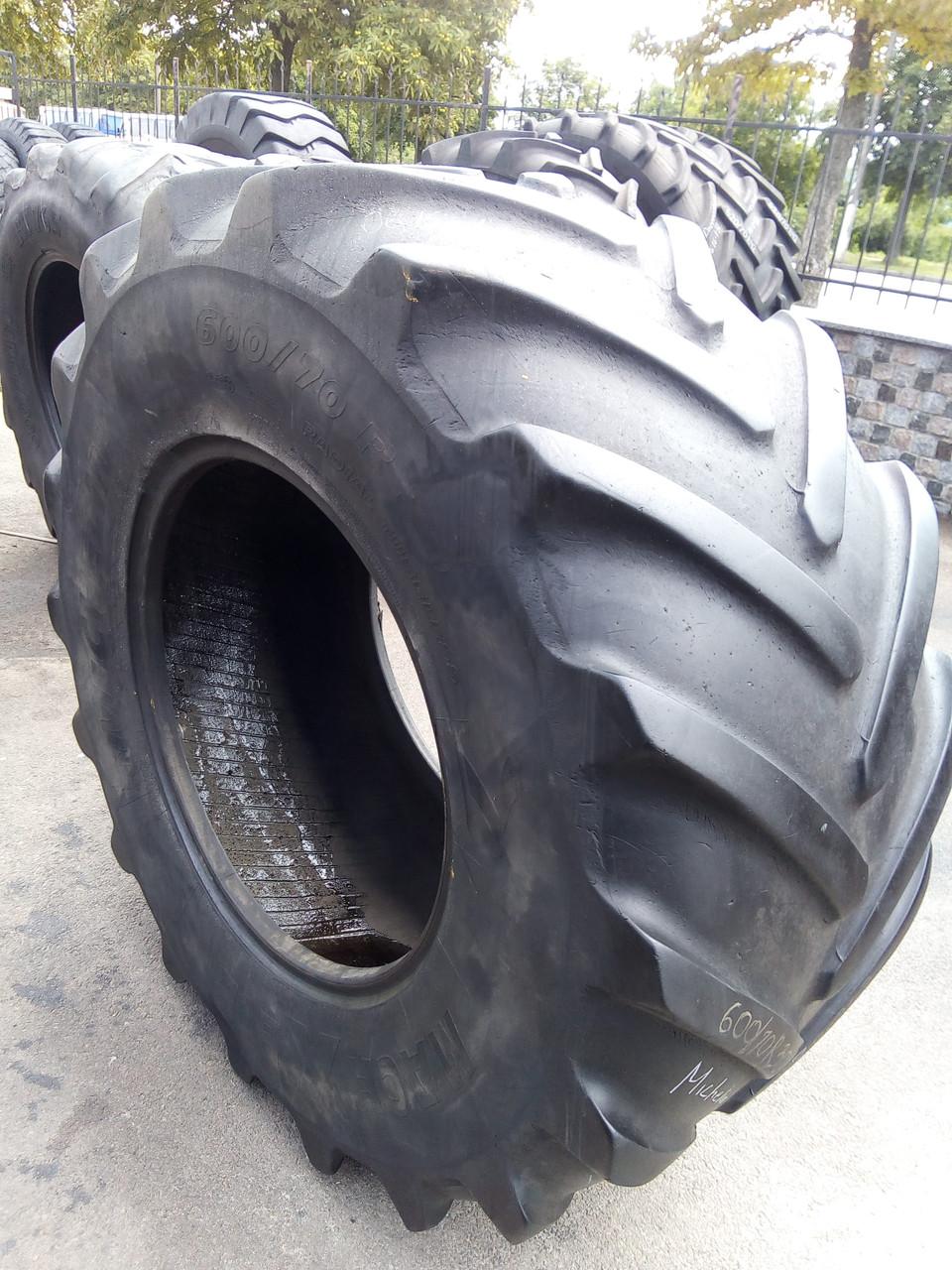Шины б/у 600/70R30 Michelin для тракторов JOHN DEERE, CASE IH