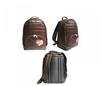 Рюкзак молодежный OL-4213-1 коричневый