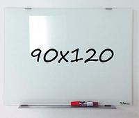 Доска магнитно-маркерная стеклянная 90х120см, Tetris