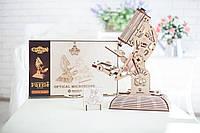 Пазл 3D Микроскоп с настоящей оптикой от Ecocon