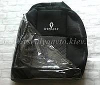 Авточехлы RENAULT Megane 3 хетчбэк (2/3 спинка и сиденье + подлокотник)