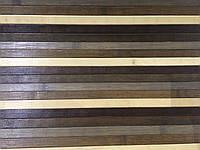 """Бамбуковые обои цветные """"радуга темная"""", ширина 90 см"""