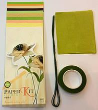 Набор для изготовления цветов из бумаги