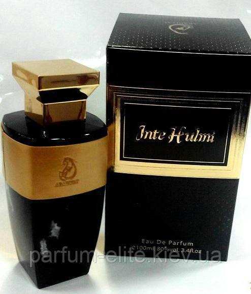 Восточная парфюмированная вода для мужчин Arabiyat Inte Hulmi 100ml