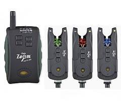 Набор сигнализаторов 3+1 Carp Zoom (цифровые,водонепроницаемые)