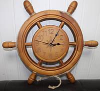 Часы Штурвалы и Якоря ручной работы