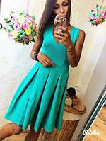 Платье Летнее с красивого фактурного трикотажа