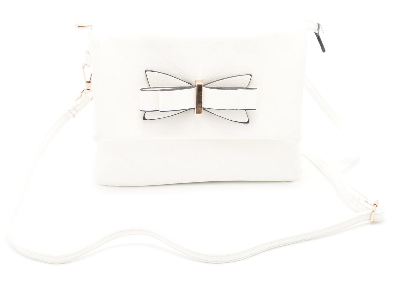 Белая женская сумка  Б/Н art. 681739