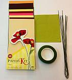 Набор для изготовления цветов из бумаги Маки, фото 2