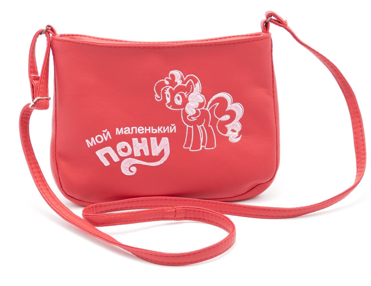Детская красная сумка  Б/Н art. SMs Украина