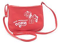 Детская красная сумка  Б/Н art. SMs Украина, фото 1