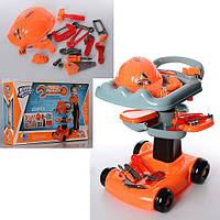Детский набор инструментов с тележкой для мальчика