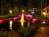 Светодиодный  светильник  для фонтанов, бассейнов, аквариумов 30led 3м, фото 2
