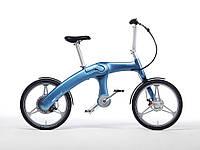 """Электровелосипед Mando Footloose G1 Light Blue 20"""" (светло-синий)"""