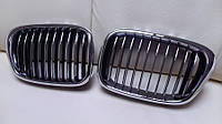 Решетка радиатора ноздри тюнинг BMW E39 хром