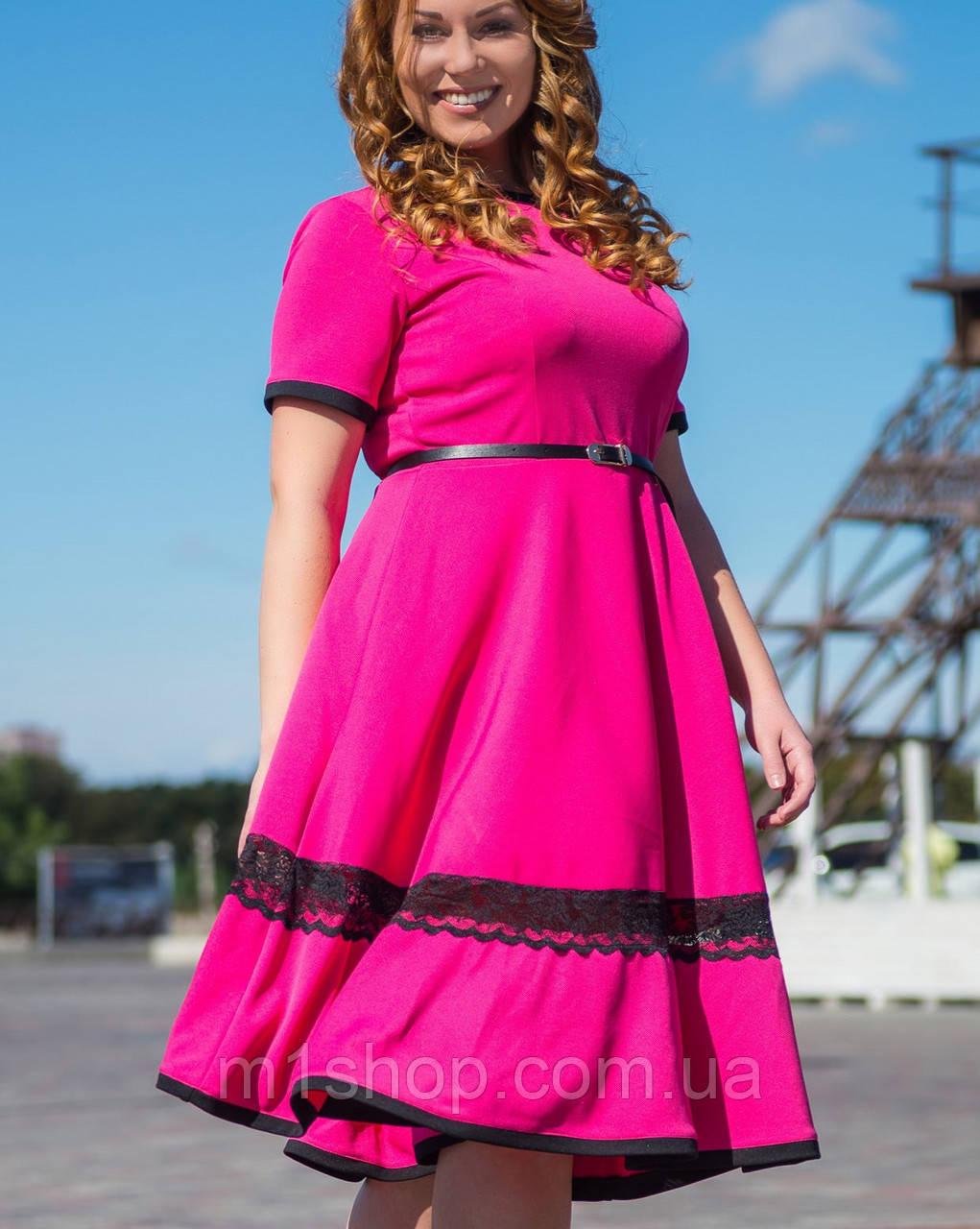 Милое женское платье больших размеров (2119 sk)