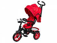 Трехколесный велосипед Neo 4 Air красный с фарой, фото 1