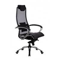 Эргономичное кресло Samurai S1 Black