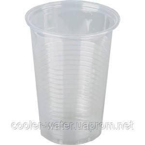 Пластиковый стаканчик одноразовый 200мл.