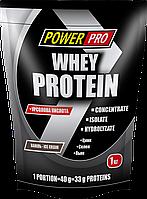 WHEY PROTEIN сывороточный протеин ванильное мороженое 1кг Power Pro
