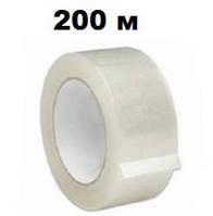 Скотч упаковочный 45 мм х 200 м, прозрачный
