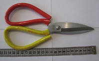 Ножницы большие усиленные 22 см, инструмент для бижутерии, рукоделия