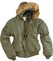 Куртка летная N2B Аляска (Olive), фото 1