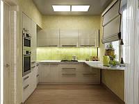 Кухня на заказ BLUM-030 краска по RAL каталогу