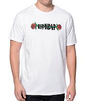 RipNDip Rose футболка белая / оригинал бирка