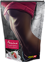 Protein Femine Pro жиросжигающий протеин для женщин клубника 1кг Power Pro