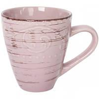 Чашка 400мл Античная розовая.