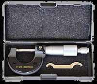 Микрометр 0–25мм, 0,01–0,25мм S-LINE