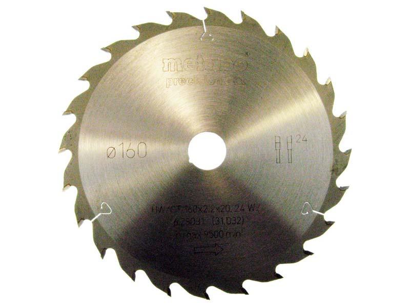 Пильный диск metabo 160x20x24Z