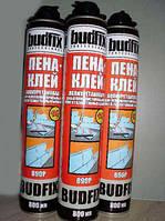 Пена полиуретановая BUDFIX 890P Пена-клей 1 ящ 12шт X 800 мл