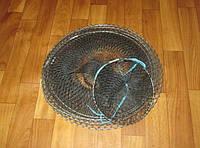 Садок для рыбы  5 колец d=40см h=110см яч 1.5см.