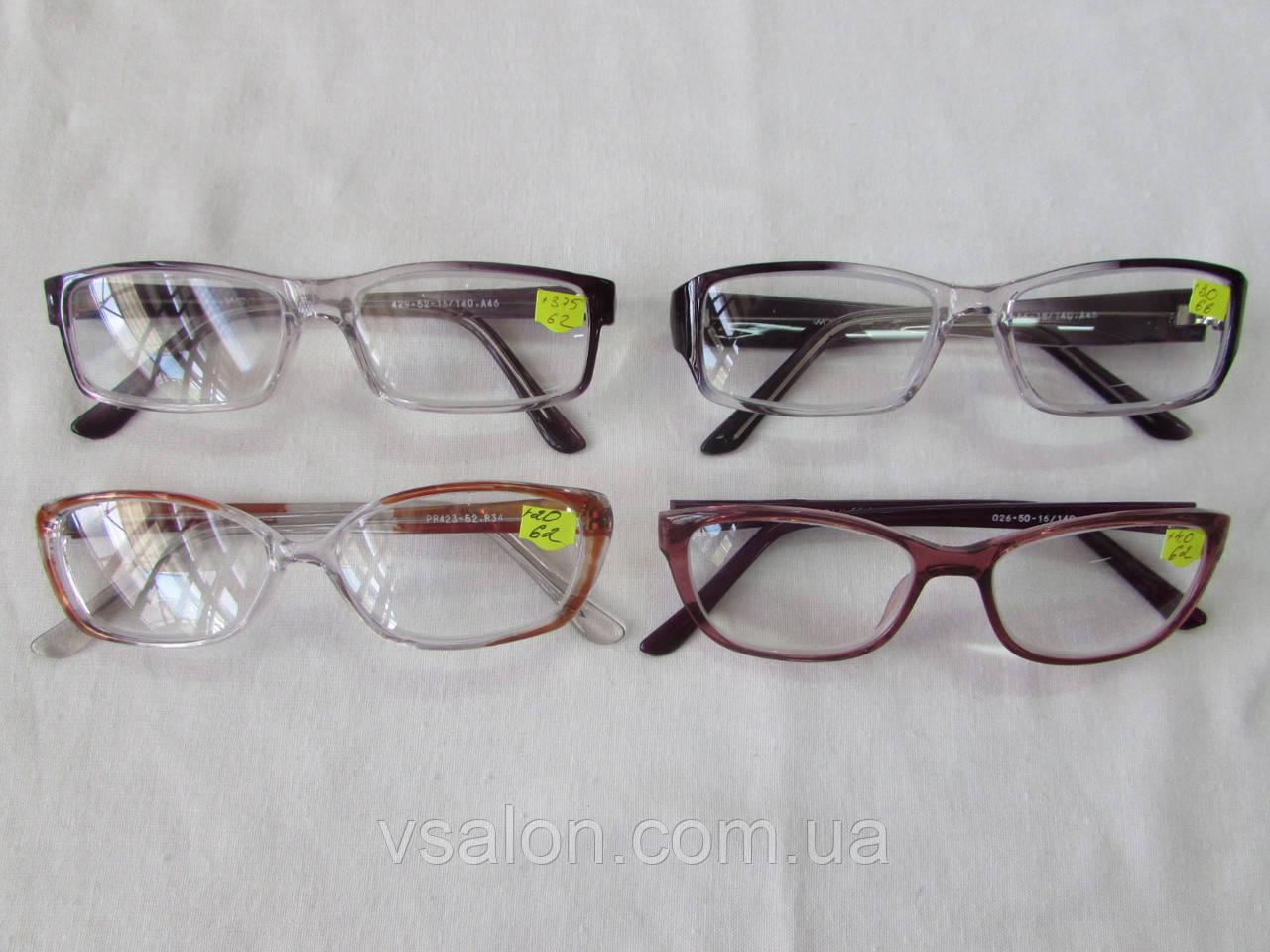 Очки с большими диоптриями мужские +4,0 до +6,0